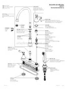 delta kitchen faucet repair parts delta faucet 2497lf rb parts list and diagram ereplacementparts