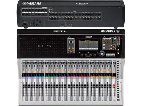 nuove console yamaha nuove console digitali tf ziomusic it