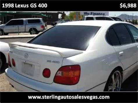 how to sell used cars 1998 lexus gs parking system 1998 lexus gs 400 used cars las vegas nv youtube