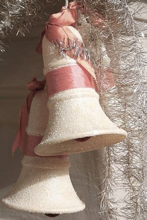 Wedding Bell Ghosts by Ghosts Of Cheesecloth Covered White Paper Wedding Bells