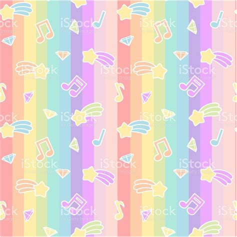 Photo Collection Cute Rainbow Star Background