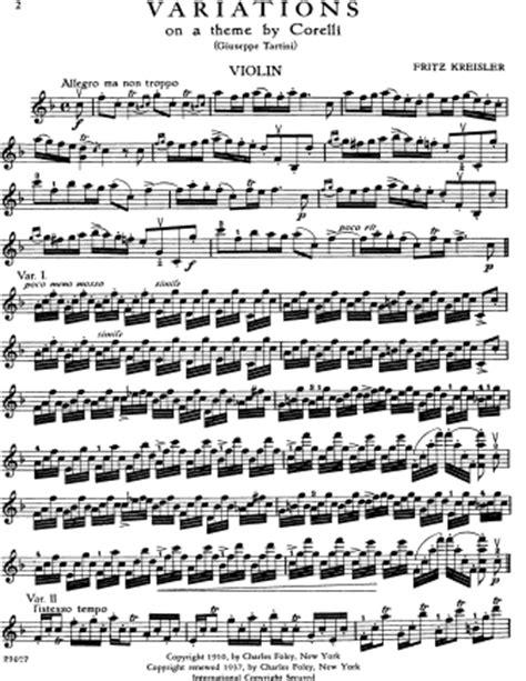 theme variations definition variations on a theme of corelli fritz kreisler free