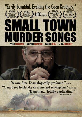 murder in a small town the gentlemen s to midnite cinema dvd picks
