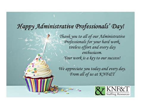 .happy administrative professionals day
