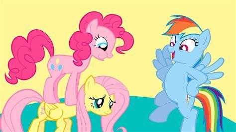 Bgc My Pinkie Pony Rainbow Dash And Friends Kantung Depan Tas R my pony friendship is magic pinkie pie and rainbow dash