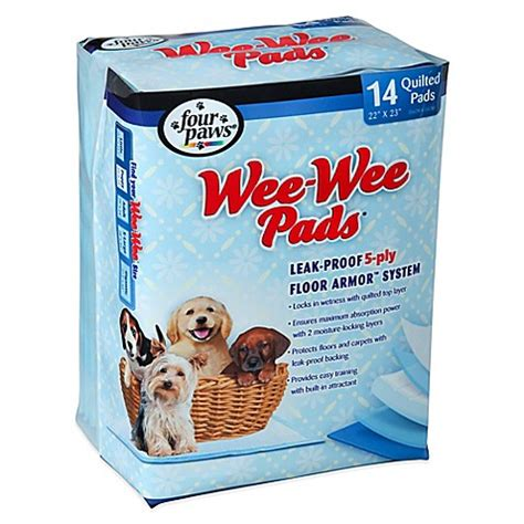how to your to be housebroken four paws wee wee pads bed bath beyond