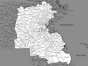 Greater Boston Map by Opinions On Greater Boston