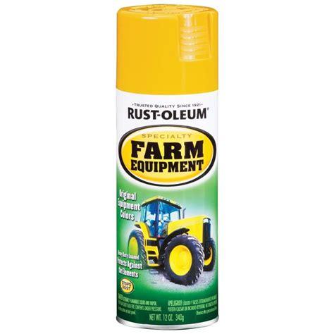 Shop Rust Oleum 12 Oz Caterpillar Yellow Gloss Spray Paint