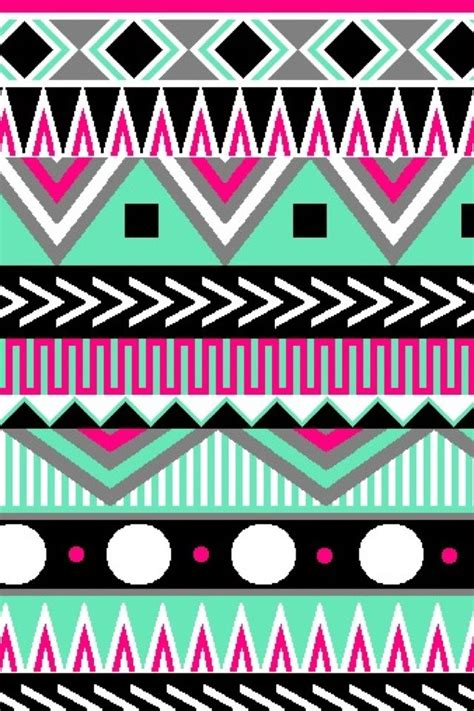 aztec pattern wallpaper for iphone multi color aztec cute wallpapers cocoppa pinterest