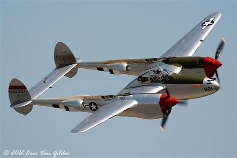 P 38 Lighting by Gilder Aviation Photography Chino Airshow 2012 P 38