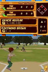 Backyard Baseball Rom Backyard Sports Sandlot Sluggers U Rom