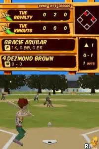 Backyard Baseball Cd Rom Backyard Sports Sandlot Sluggers U Rom
