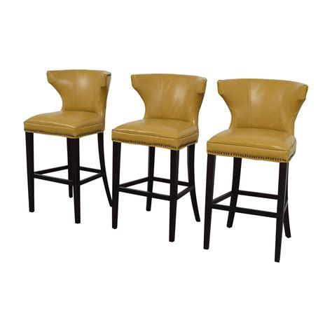 grandin road counter stool 72 grandin road grandin road mustard yellow bar