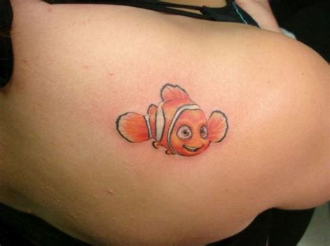 nemo tattoo 55 disney tattoos for and amazing ideas