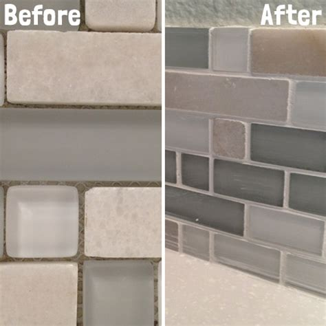 grout tile backsplash diy kitchen backsplash part 5 grouting backsplash tiles
