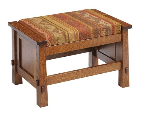 mission ottoman olde mission ottoman ohio hardword upholstered furniture