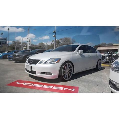 bagged gs300 2006 lexus gs300 accuair and cvt vossen bagged