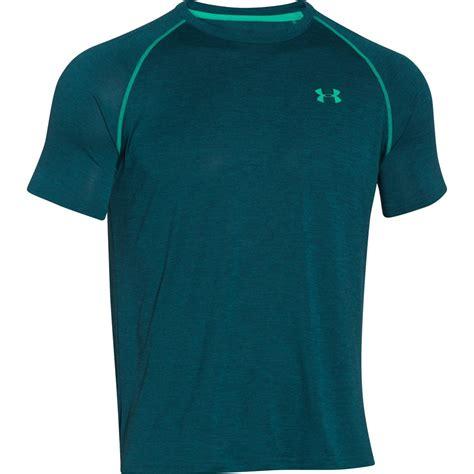 Jual Armour T Shirt armour s tech t shirt hydro teal sports leisure zavvi