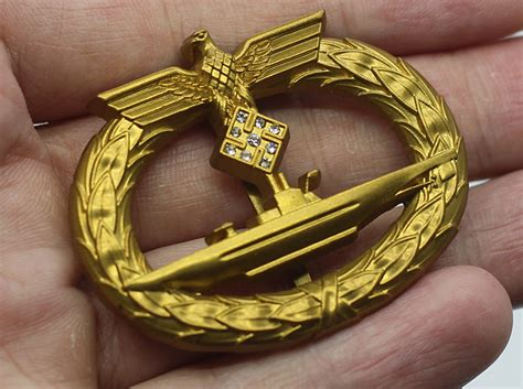 u boat war high quality u boat war badge with diamonds for sale