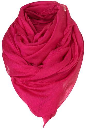 Timesaver Stila Kit by Topshop Light Weave Scarf 8 Fabulous Fuchsia Clothes
