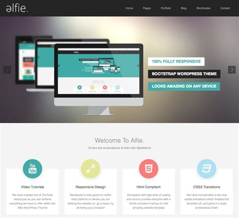 wordpress layout buy 20 beautiful flat wordpress themes to spice up your site