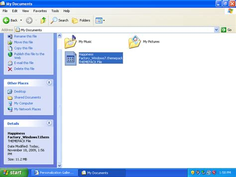theme line themefile find out how to use windows 7 themes on xp and vista