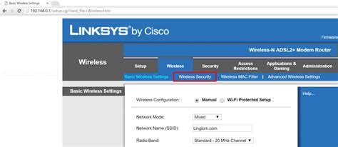 change wi fi password on linksys wag120n linglom