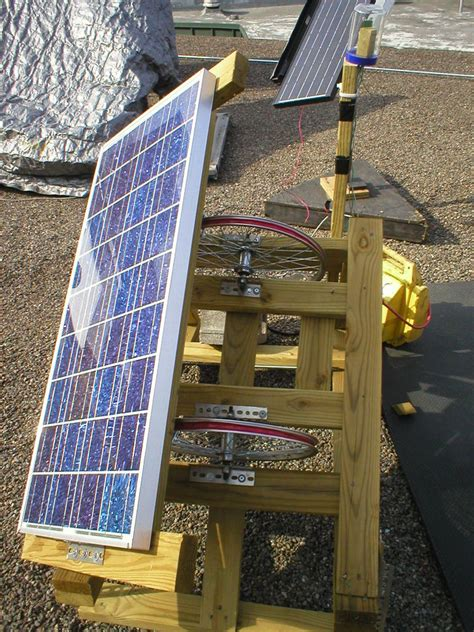 how to build a solar array how to make a solar panel that follows the sun diy and crafts