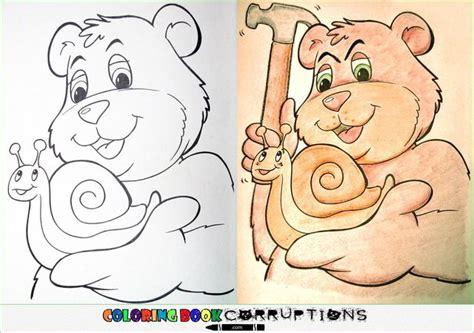 disturbing coloring book corruptions dibujos para colorear corrompidos rinc 243 n abstracto