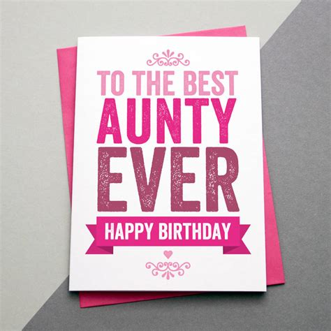 printable birthday cards for aunt free best auntie aunt aunty ever birthday card by a is for