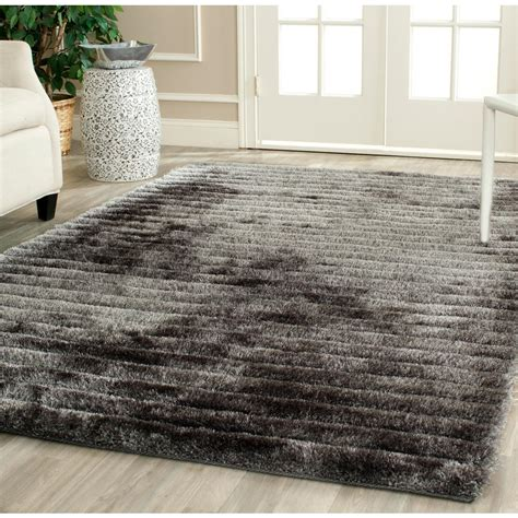 Safavieh Paris Shag Chocolate 8 Ft X 10 Ft Area Rug 8 Shag Rug