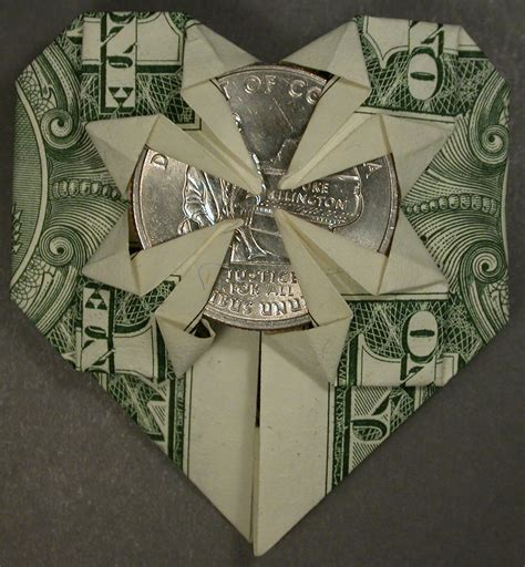 Money Origami With Quarter - money origami with quarter 28 images dollar origami