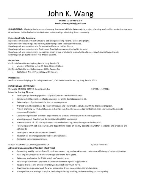 Healthcare Resume by Resume Healthcare Admin