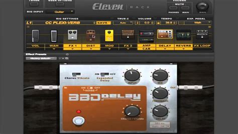 tutorial guitar effects how to use the avid eleven rack 7 jcm800 tone guitar
