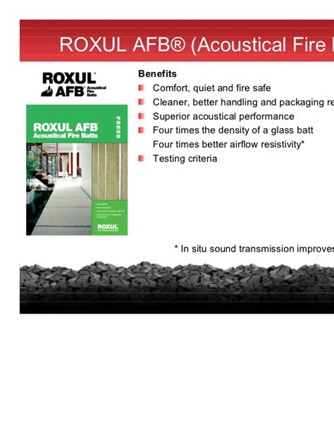 roxul curtain rock sustainable solutions for thermal fire sound control