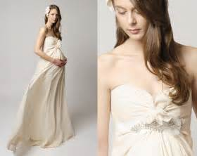 Pregnant Wedding Dresses Maternity Wedding Dresses Fantastical Wedding Stylings