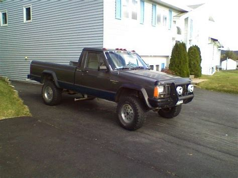 1988 jeep comanche custom ricksmanche 1988 jeep comanche regular cab specs photos