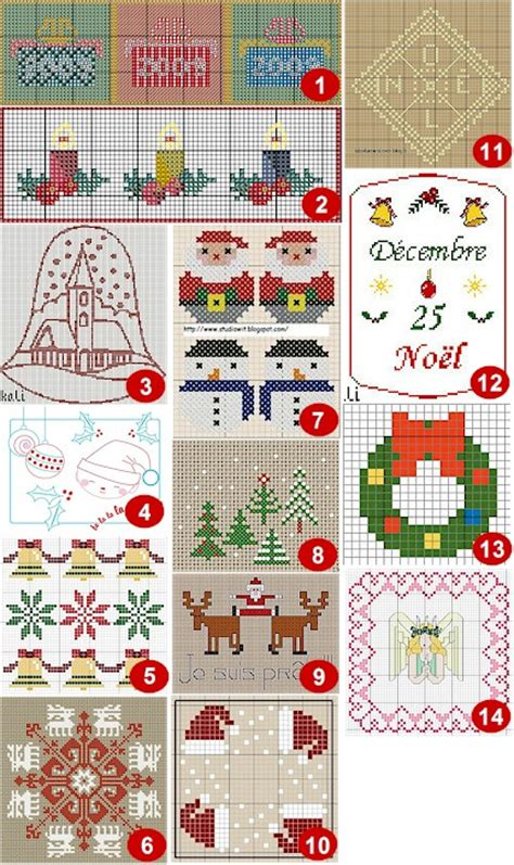 christmas cross stitch ornament patterns 171 free patterns