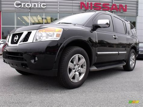 black nissan armada 2010 galaxy black metallic nissan armada platinum