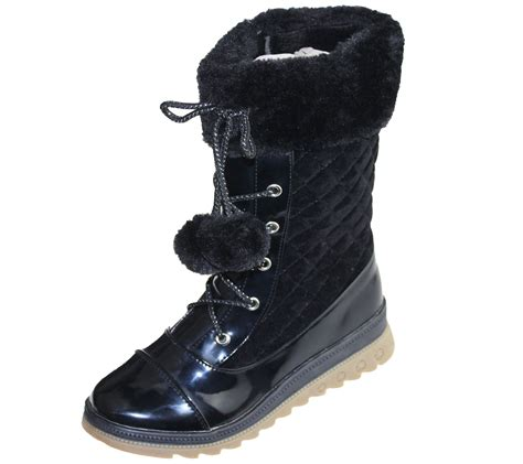 winter school shoes for warm lined boots quilted winter warm high