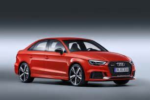 audi rs3 sedan wants to smash the competition with its 400 ps