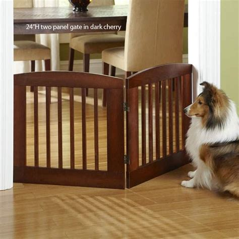 house dog gates dog gate wood freestanding adjustable doorway barrier pet 24 034 or 36 dog gates for