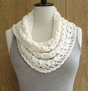 Easy Infinity Scarf Pattern Knitting New Knitting Pattern For Lace Cowl Easy Knit