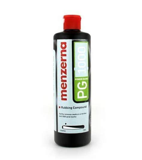 Menzerna Pg 1000 compound wax