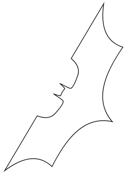 batman symbol outline clipartsgram