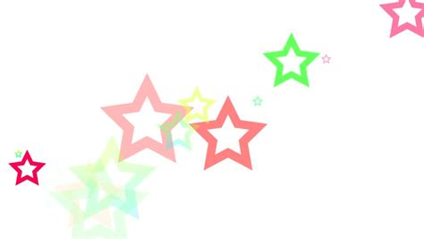 xmas star series 3 version from 1 to 9 stock footage