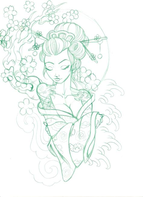 geisha warrior tattoo drawings scan0027 by 5stardesigns d5wz5d2 jpg 1700 215 2338 space