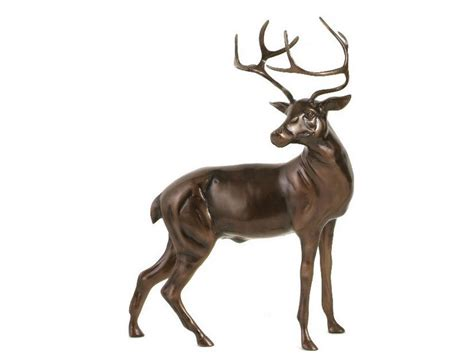 Metal Ornaments Home Decor large stag statue bronze stag sculpture