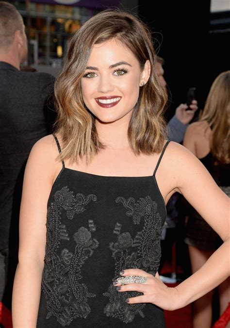 lucy hale short hair bob fashion trends outfit ideas what to wear fashion news