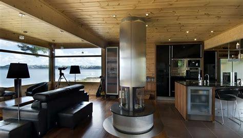 Maison Bois Interieur Moderne by Maison En Bois Construite En Bretagne Au Design Int 233 Rieur